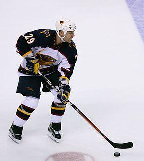 Brad Larsen Canadian ice hockey player