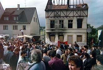 Anti-Turkism - The Solingen arson attack of 1993, in which neo-Nazis set fire to a Turkish family's home, was one of the most severe instances of xenophobic violence in modern Germany.