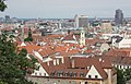 Bratislava, view from the castle hill to the city, image 1.JPG