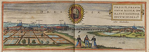 Timeline of Dresden - Dresden, 16th century