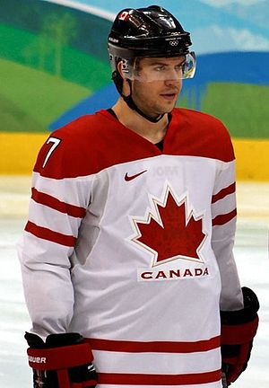 Brent Seabrook - Image: Brent Seabrook olympic