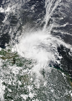 2017 Atlantic hurricane season - Image: Bret 2017 06 19 Suomi NPP