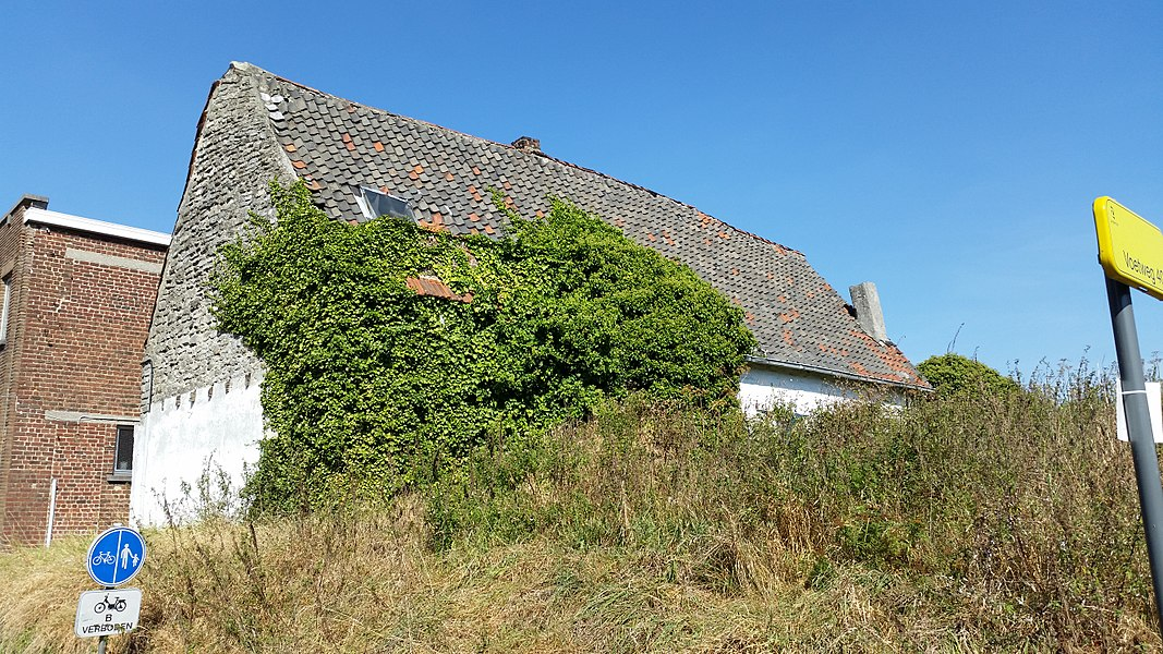 Remnant of a small farm, heritage building in Zaventem, Flemish Brabant, Belgium.
