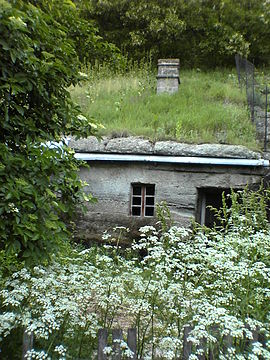Brhlovce typical dwelling.JPG