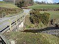 Bridge over the Colwyn Brook, near Caersws - geograph.org.uk - 200518.jpg