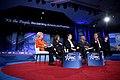 Bridgett Wagner, Salena Zito, Rick Santorum, Niger Innis & Robert Davi (32777291590).jpg