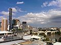 Brisbane River and skyline of Brisbane Australia 2.jpg