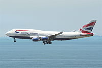 G-CIVD - B744 - British Airways