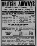 British Airways Hall Caine Schedule.png