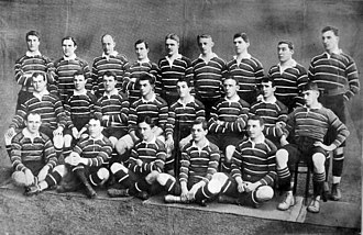 1899 British Lions tour to Australia - The touring British team