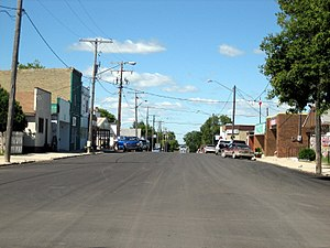 Broadview, Saskatchewan - Broadview Main Street 2014