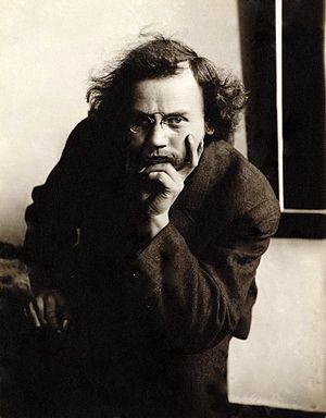 Bror Julius Olsson Nordfeldt - Image: Bror Julius Olsson Nordfeldt c 1900