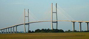 Sidney Lanier Bridge - Image: Brunswick GAS Lanier Bridge