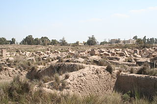 Bubastis Archaeological site in Egypt