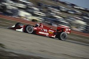 Buddy Lazier - Lazier driving at the 1991 Toyota Monterey Grand Prix at Laguna Seca Raceway.