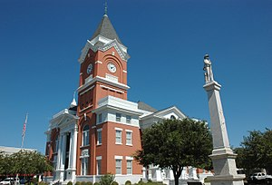 Bulloch County Courthouse - Confederate Monument at courthouse