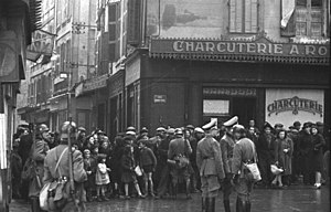 Roundup (history) - Nazi German roundup in France (rafle), Marseille