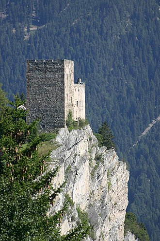 Laudegg Castle - From Ladis