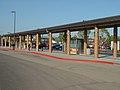 Bus bays at Castro Valley station, May 2003.jpg