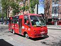 Buseta en la calle 19 Bogotá Germania.JPG