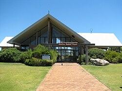 Busselton airport entrance