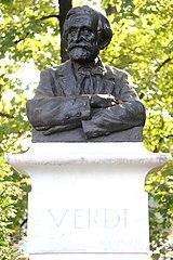 Bust of Giuseppe Verdi