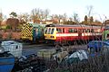Butterley railway station, Derbyshire, England -train-19Jan2014 (5).jpg