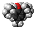 Butylated hydroxytoluene 3D spacefill.png