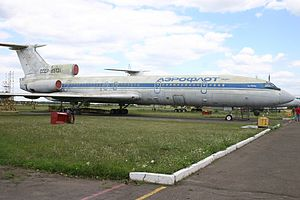 Air Crew - Tu-154B board USSR-85131, which appeared in the film (year 2007)