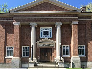 Columbia County Historical Society - Image: CCHS Museum & Library
