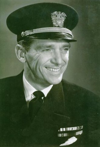"Douglas Fairbanks Jr. - Douglas Fairbanks Jr., ""Father of the U.S. Navy Beach Jumpers"""