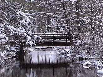 National Register of Historic Places listings in Fulton County, Pennsylvania - Image: CGSP Snowy Bridge