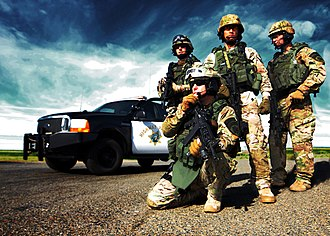 California Highway Patrol - Members of the CHP SWAT Team
