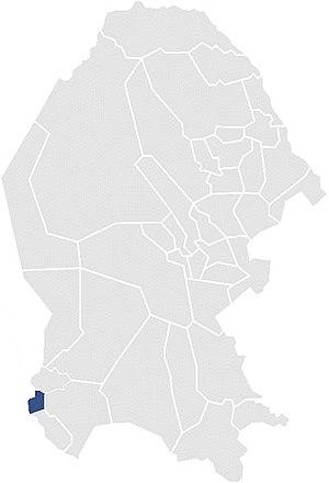 Sixth Federal Electoral District of Coahuila - District Coah-VI