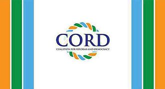 Coalition for Reforms and Democracy - Image: CORD FLAG Kenya