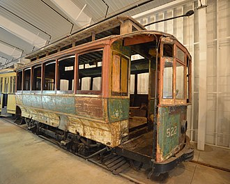 National Capital Trolley Museum - Image: CTC 522 20120810