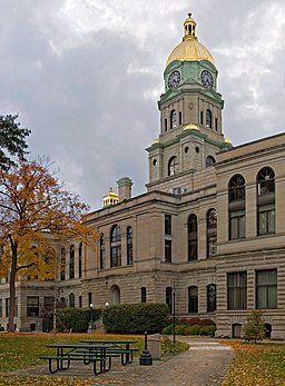 Cabell County Courthouse i Huntington.