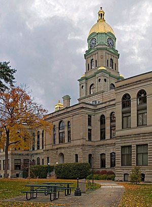 Cabell County, West Virginia - Image: Cabell County Courthouse