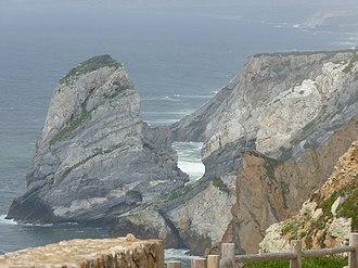 Cabo da Roca - The granite boulders and sea cliffs along the coast