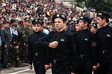 russia confronts chechnya dunlop john b