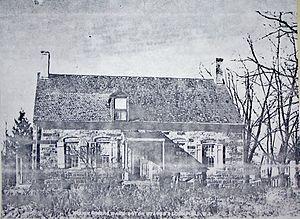 Thomas Cadmus - Cadmus House, from east