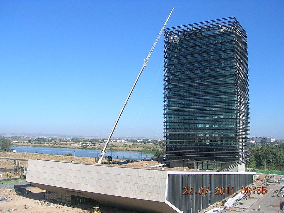 Caja Badajoz, caj%C3%B3n