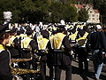 Cal Band en route to Memorial Stadium for 2008 Big Game 23.JPG
