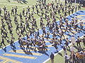 Cal Band performing pregame at 2008 Big Game 03.JPG