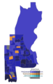 Calgary Acadia, Results by polling division.png