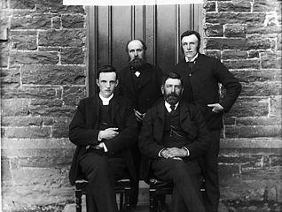 Calvinistic Methodist chapel officials, Llansannan
