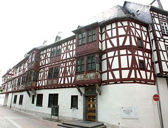 Bad Camberg - Southwest façade of the Amthof