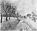 Camille Pissarro Schneelandschaft bei Eragny (aus Kunst und Künstler 1904).jpg
