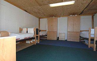 Camp Iguana - Dormitory, Camp Iguana