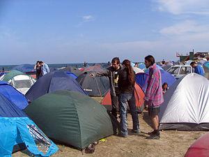 Vama Veche - Camping on the beach